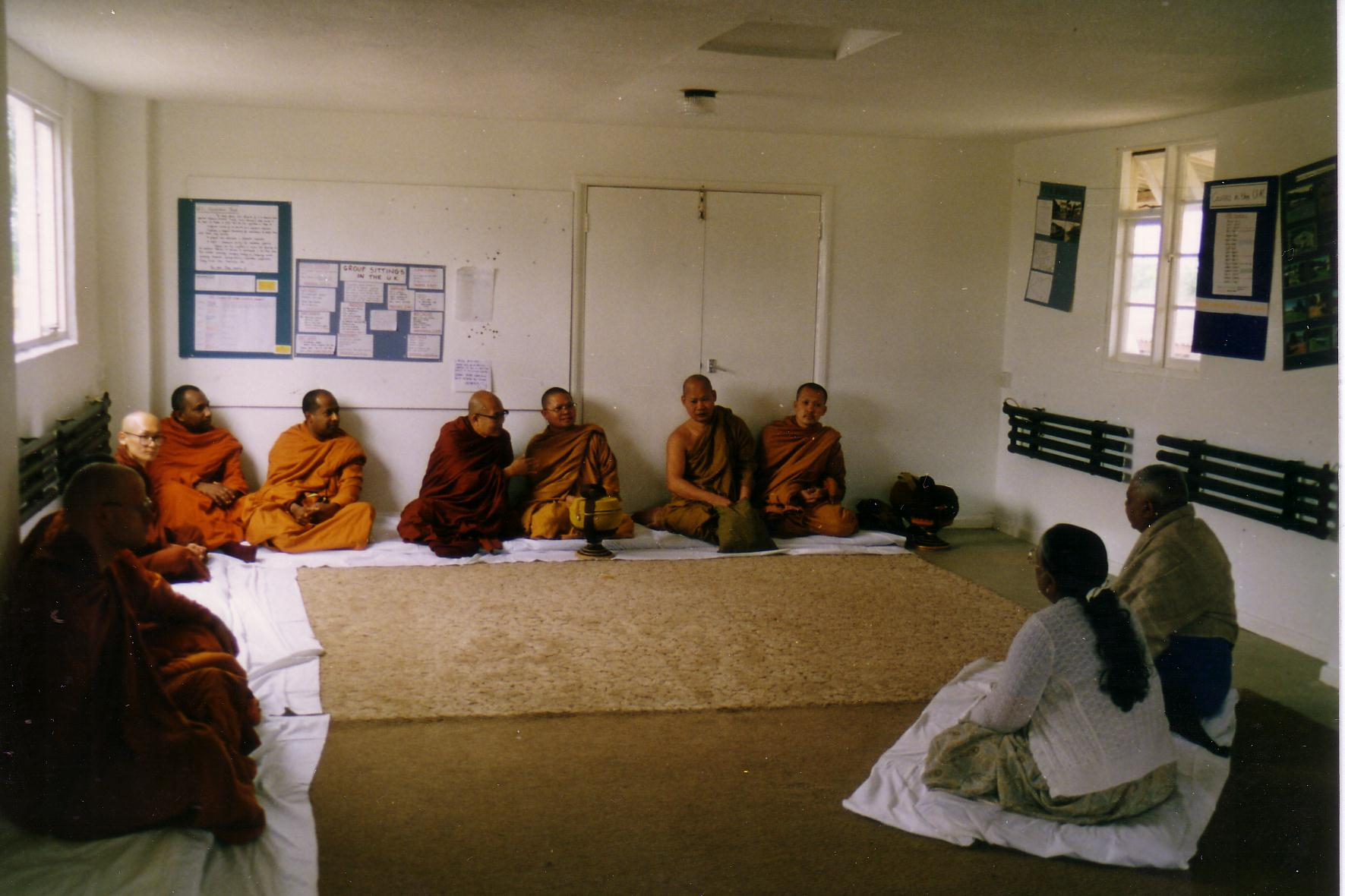 Dhamma Dipa - Reception for Monks